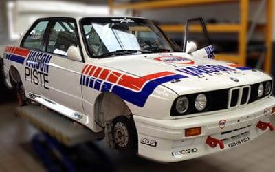 Habillage voiture Vaison Sport